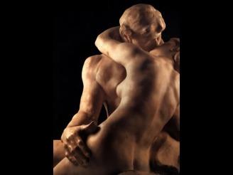 El beso - A. Rodin