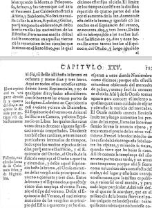 """""""Naturalis Historia"""", Libro XVIII, Capítulo XXV de la traducción."""