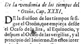 Historia Naturalis, Libro XVIII, Capítulo XXXI de la traducción.